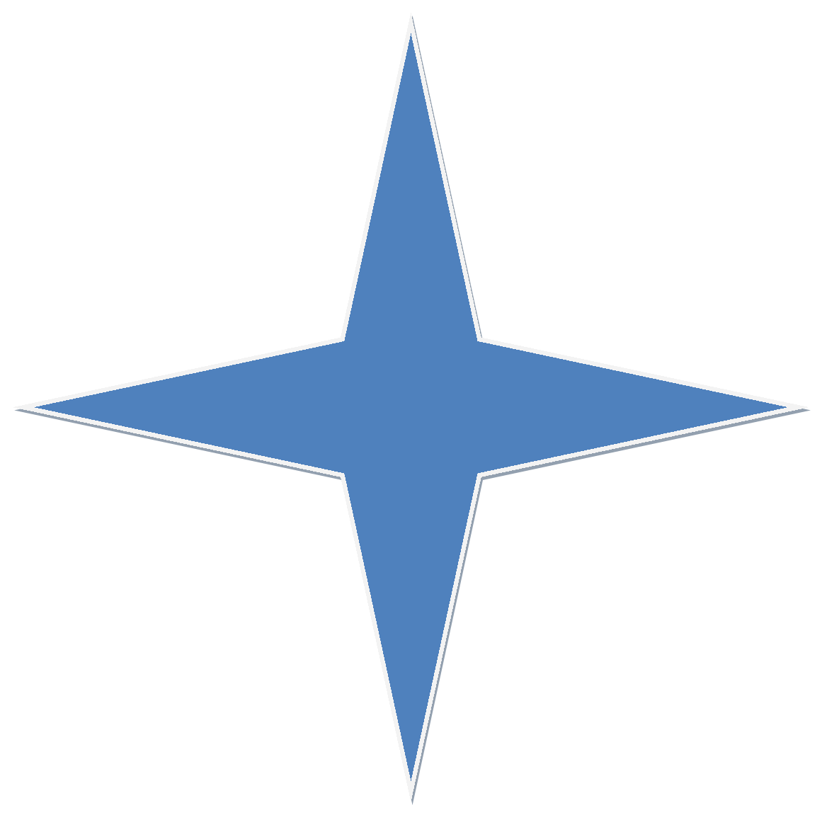White 4 point star clipart vector free 51 png 5 » PNG Image vector free