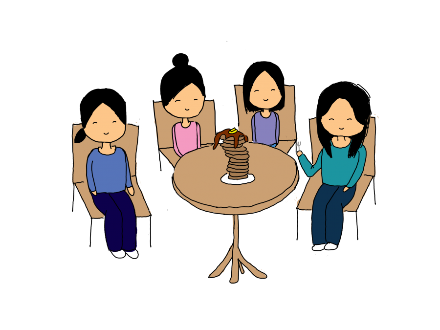 Four sisters clipart picture transparent library Cat\'s out of the bag: The relationship between four sisters – El Estoque picture transparent library