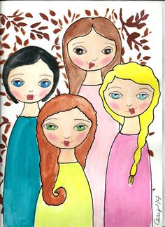 Four sisters clipart clip library library Free 4 Sisters Cliparts, Download Free Clip Art, Free Clip Art on ... clip library library