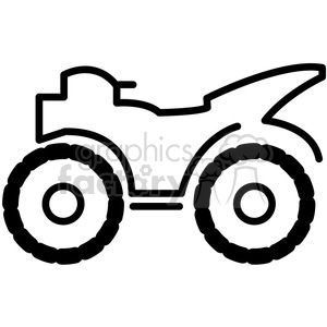 Terrain icon clipart banner black and white stock quad all terrain four wheeler vector icon . Royalty-free icon # 398537 banner black and white stock