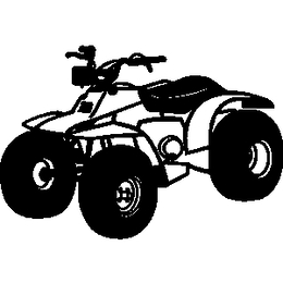 Four wheel clipart clip royalty free library Download four wheeler black and white clipart All-terrain vehicle ... clip royalty free library