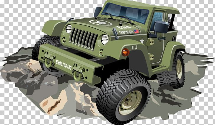 Four wheel drive clipart. Car jeep dune buggy