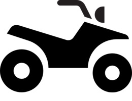 Download icon computer icons. Four wheeler with flames clipart