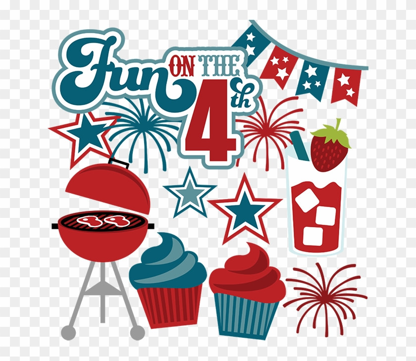 Fourth clipart jpg black and white download 4th Clipart Fourth July Food - 4th Of July Fun Clipart, HD Png ... jpg black and white download