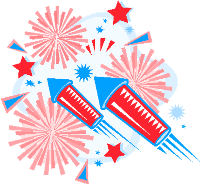 Fourth of july clipart fireworks transparent library Fourth of july fireworks clipart clipart images gallery for free ... transparent library