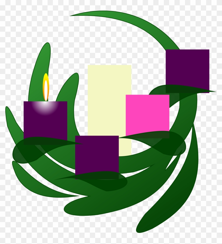 Fourth sunday of advent wreath clipart free clip royalty free download This Free Icons Png Design Of Advent 1 Wreath - Fourth Sunday Of ... clip royalty free download