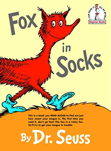 Fox in socks clipart clip freeuse Fox in Socks (Beginner Books(R)) clip freeuse