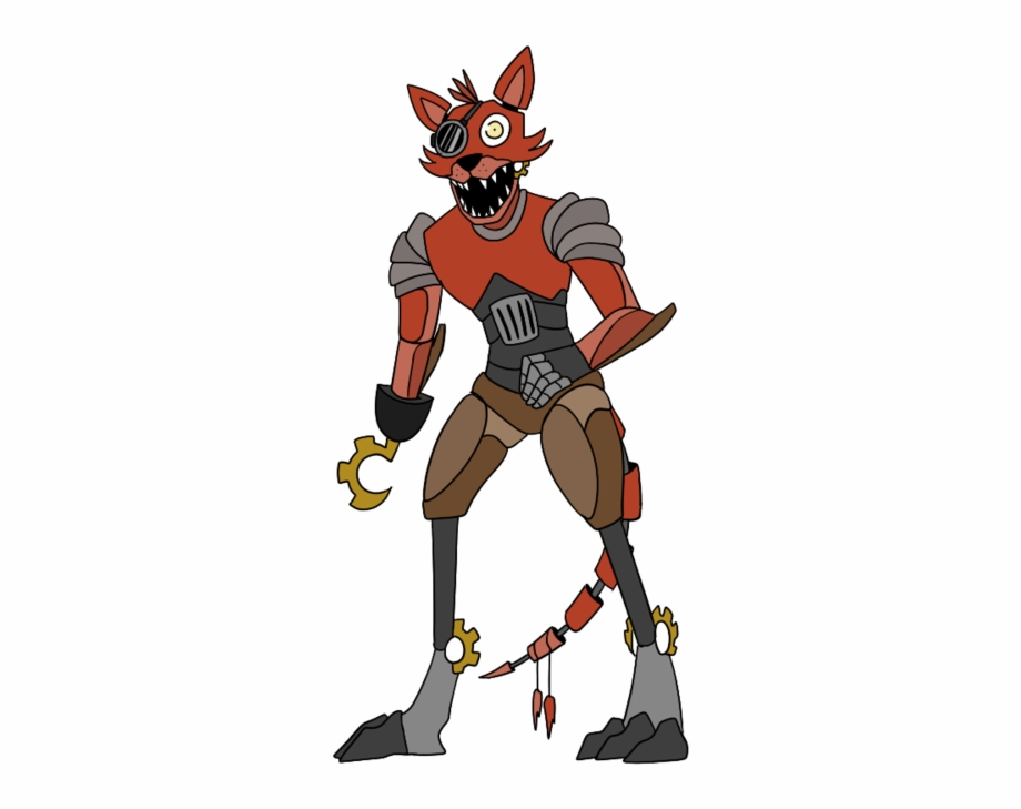 Foxy clipart picture transparent stock Five Nights At Freddy\'s - Foxy Steam Punk Free PNG Images & Clipart ... picture transparent stock