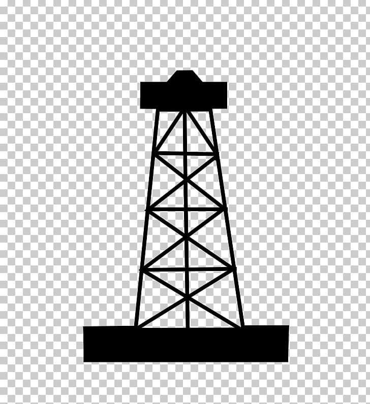 Oil well hydraulic fracturing. Fracking clipart