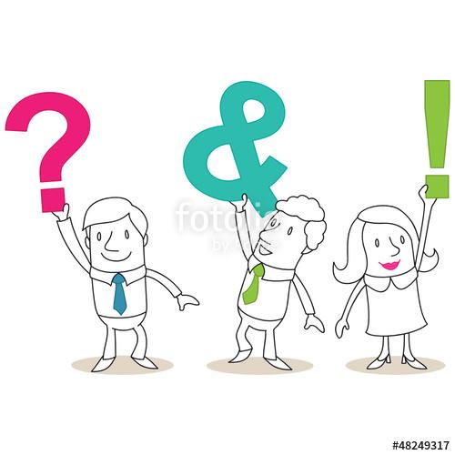 Fragen und antworten clipart freeuse stock Fragen und Antworten