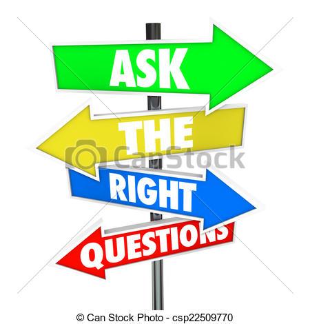 Fragen und antworten clipart clip transparent stock Stock Illustrationen von Recht, Fragen, Antworten, Pfeil, Zeichen ... clip transparent stock