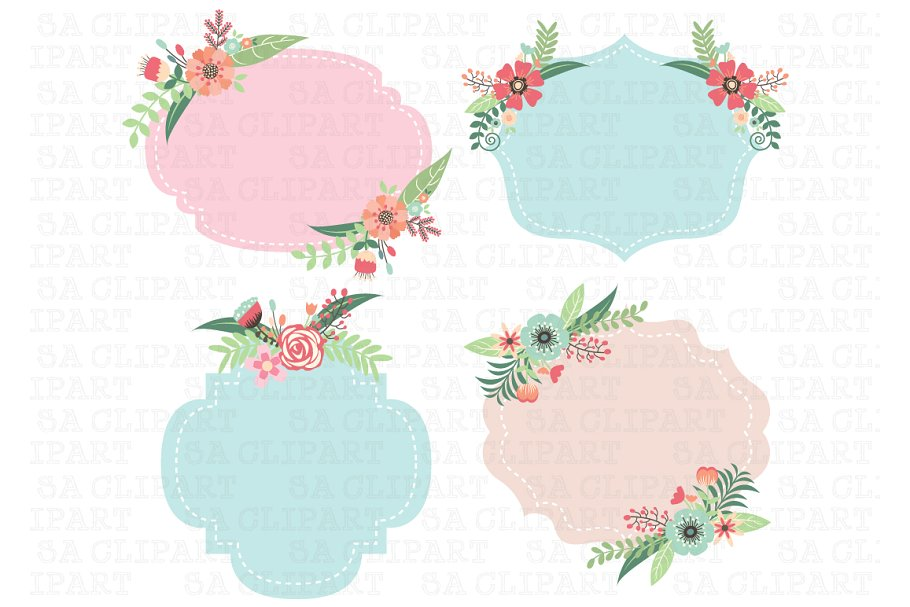Fram clipart picture library Wedding Frame Clipart picture library