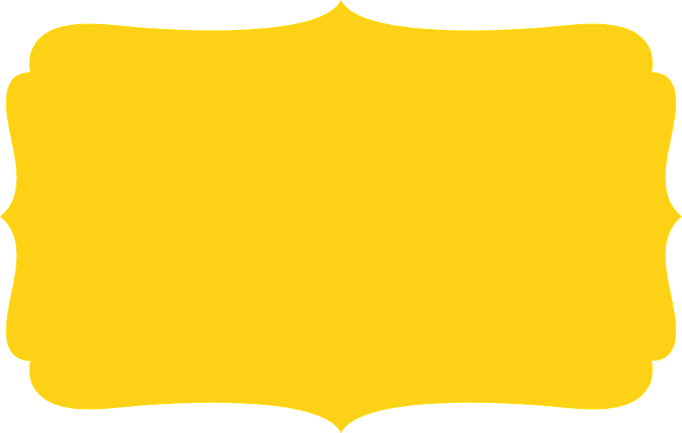 Frame amarelo clipart png freeuse stock HD Frame Edge Yellow - Frame Amarelo E Preto Transparent PNG Image ... png freeuse stock