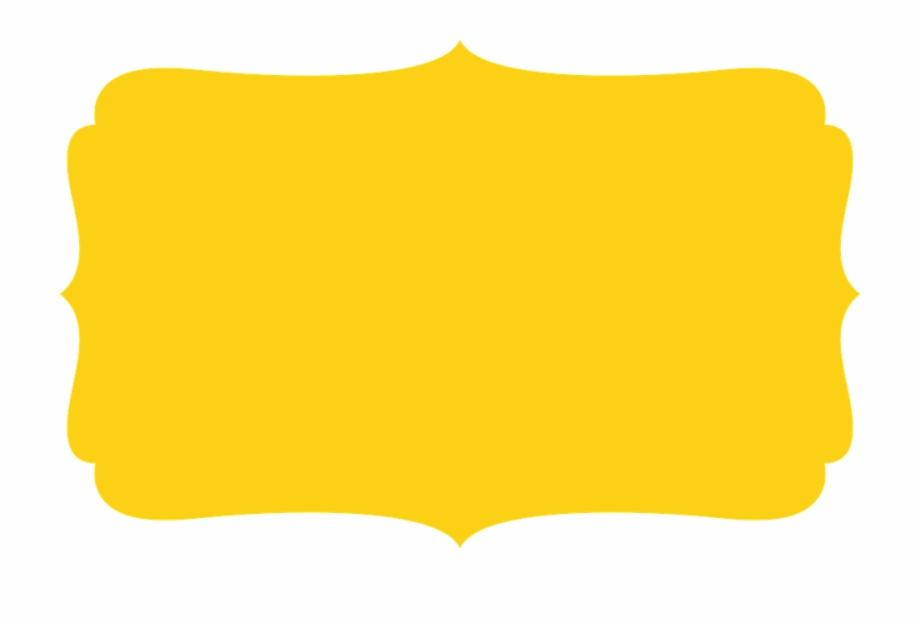 Frame amarelo clipart clip free Frame Edge Yellow - Frame Amarelo E Preto, Transparent Png Download ... clip free