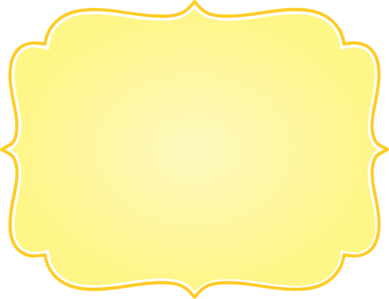 Frame amarelo clipart picture freeuse library Frame amarelo png clipart images gallery for free download   MyReal ... picture freeuse library