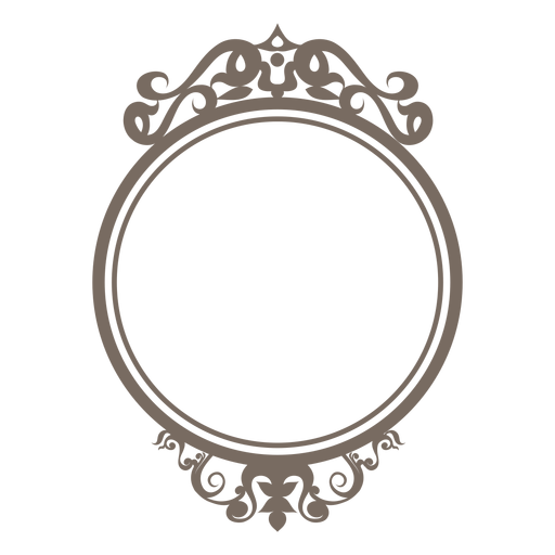 Round picture frame clipart banner black and white library Circle Frame PNG Images Transparent Free Download | PNGMart.com banner black and white library