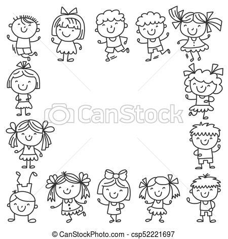 Frame clipart for kids black and white clip art transparent library Frame clipart for kids black and white 4 » Clipart Portal clip art transparent library