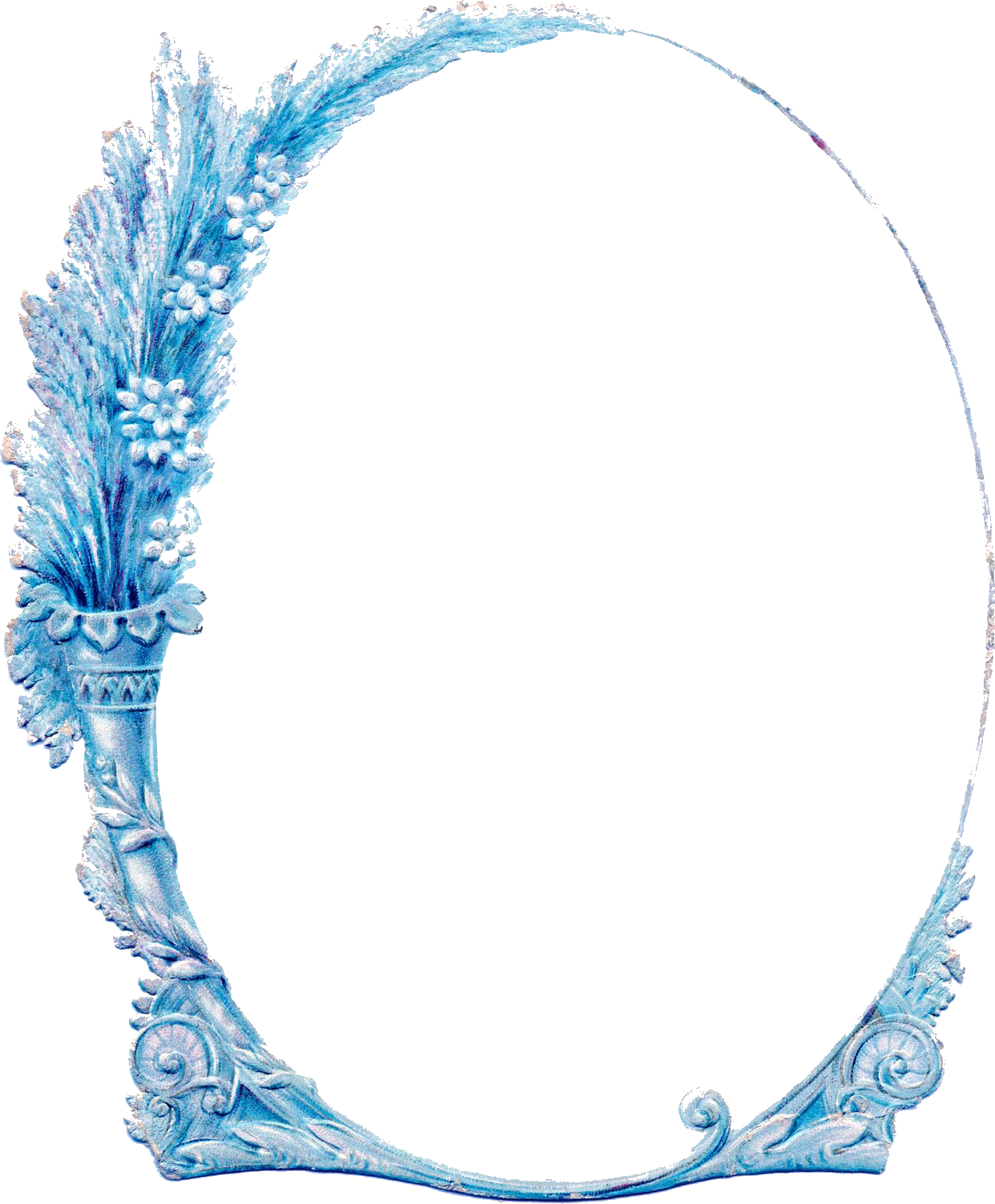 Picture Frames Paper Clip art - oval border 1242*1503 transprent Png ... picture freeuse download