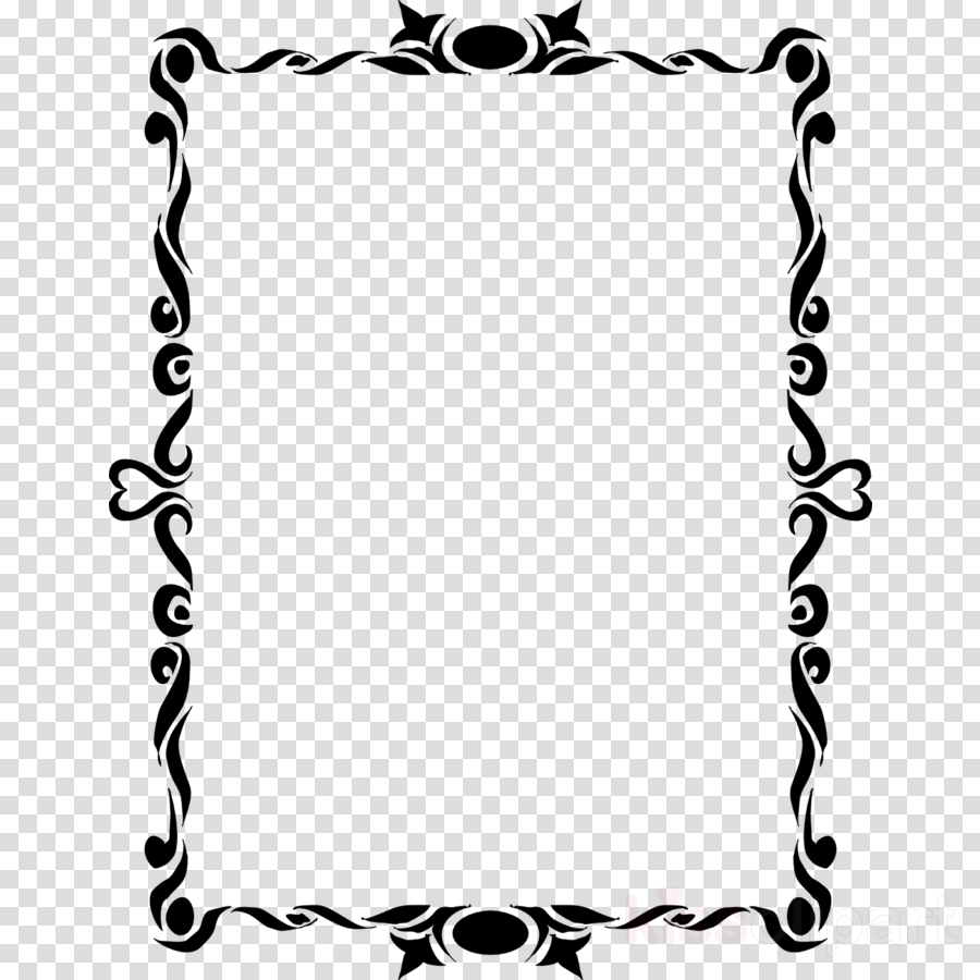 Frame clipart photoshop freeuse download Border Design Black And White clipart - Graphics, White, Black ... freeuse download