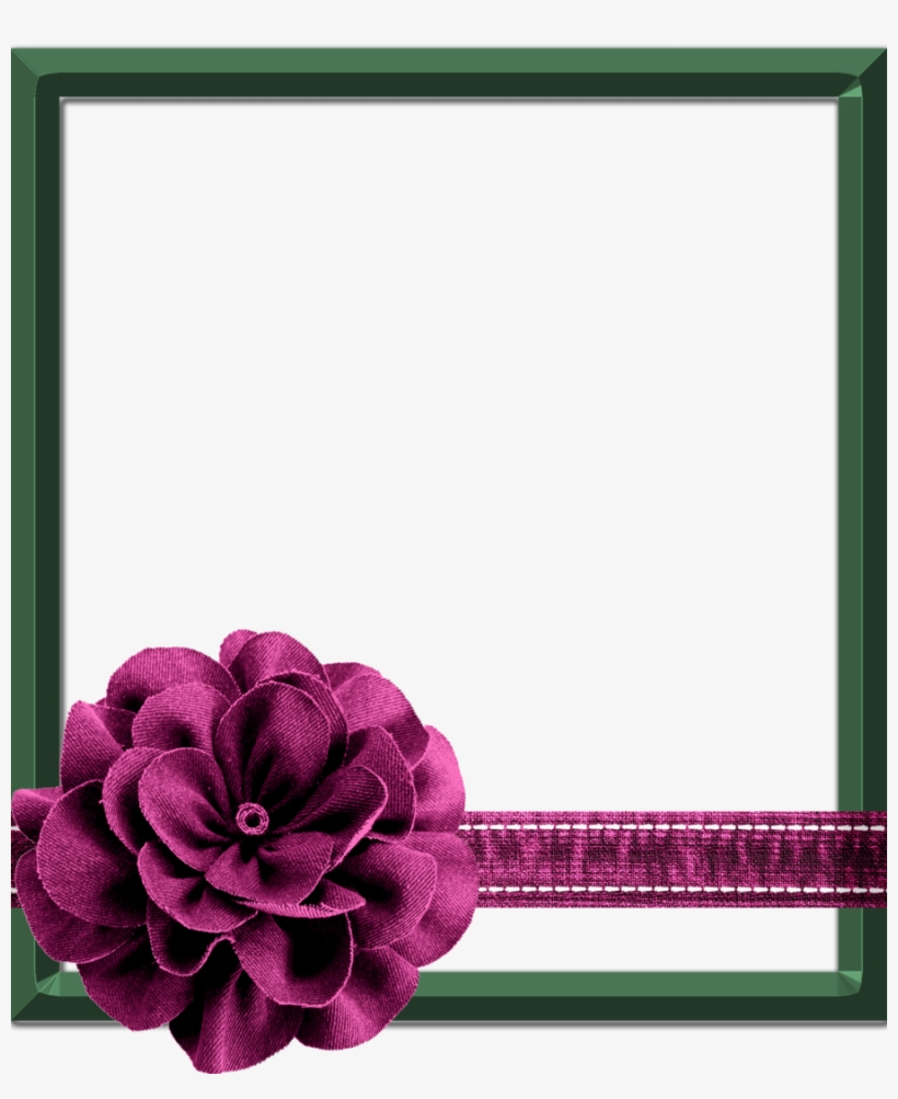 Frame clipart photoshop clip art black and white library Beautiful Flowers Frame Photoshop Clipart Picture Frames - Flower ... clip art black and white library