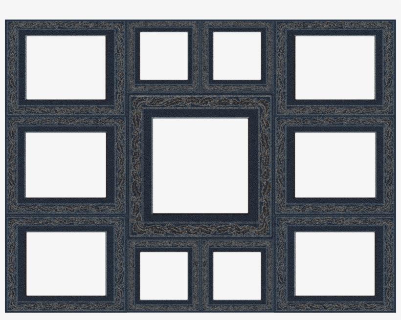 Transparent picture frames . Frame collage clipart
