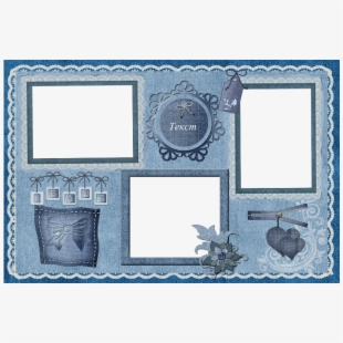 Frame collage clipart. Png photo free