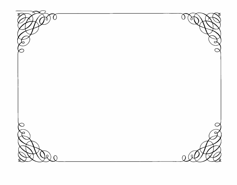 Frame decoration clipart jpg freeuse Decoration Clipart Fancy Border Frame - Borders For Certificate Png ... jpg freeuse