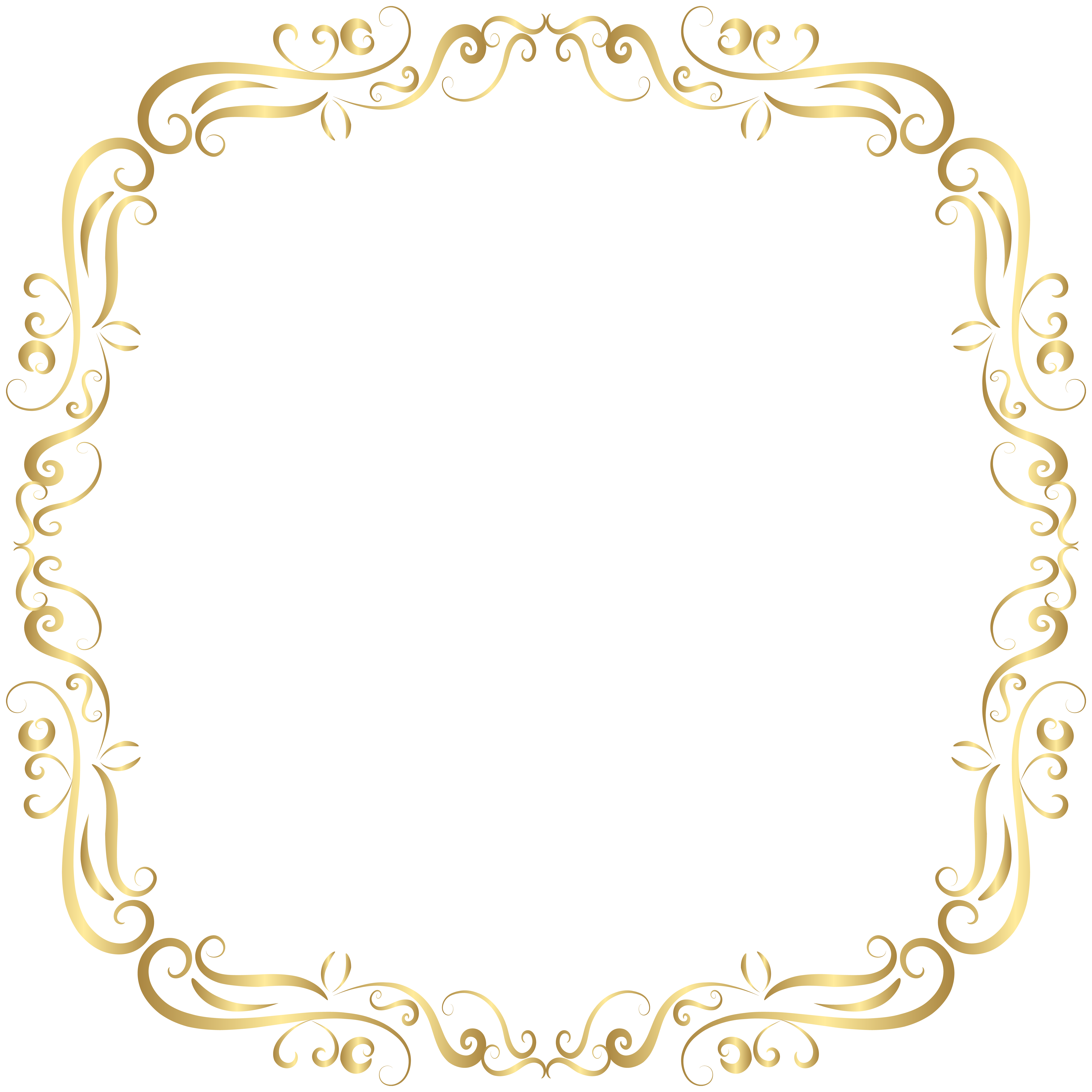 Frame decoration clipart clip freeuse Border Frame Decor PNG Clip Art Image   Gallery Yopriceville - High ... clip freeuse