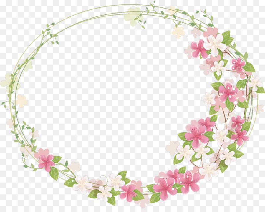 Frame floral clipart image freeuse download Floral Pattern Background png download - 1280*1004 - Free ... image freeuse download