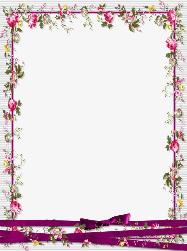 Photo frame design clipart freeuse library Floral Border Design, Graphic Design, Flowers, Frame PNG Transparent ... freeuse library