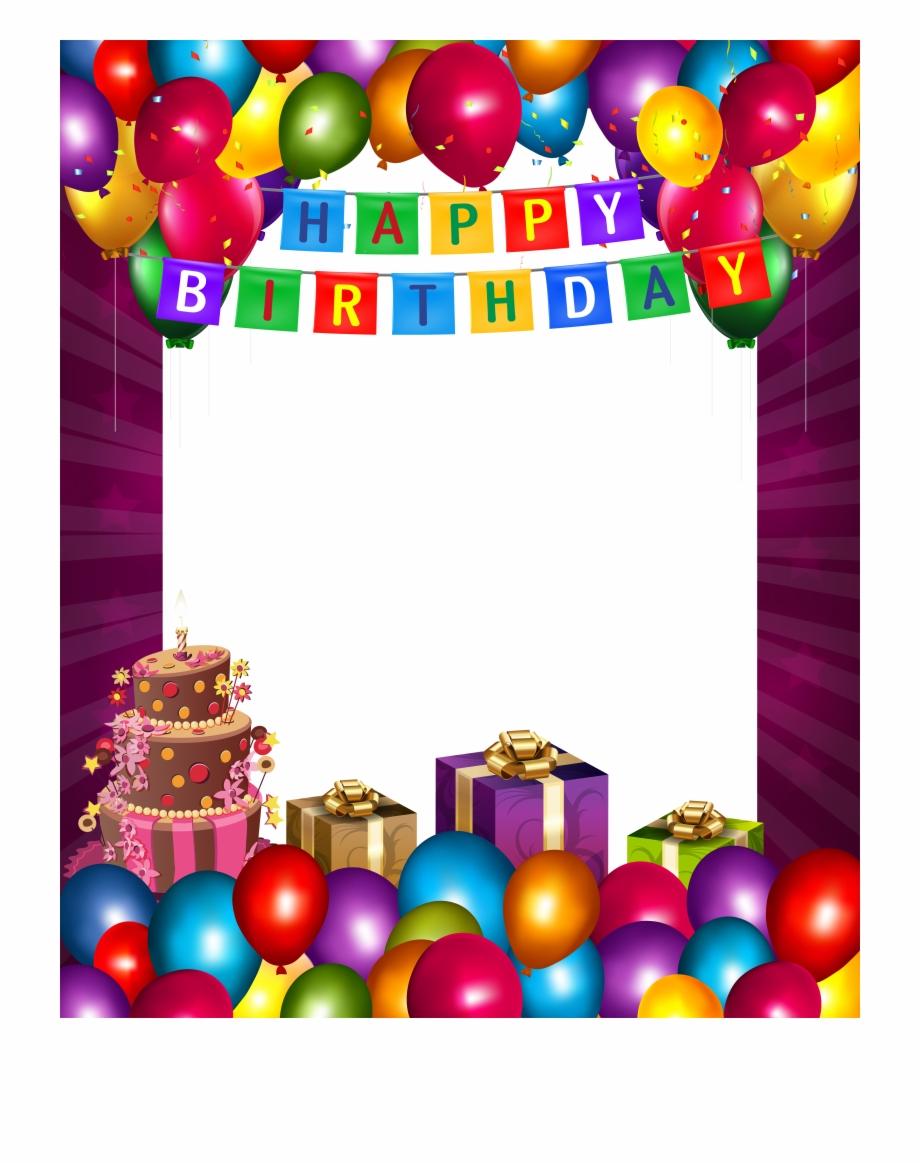 Frame happy birthday clipart image Happy Birthday Images, Happy Birthday Prayer, Happy - Happy Birthday ... image