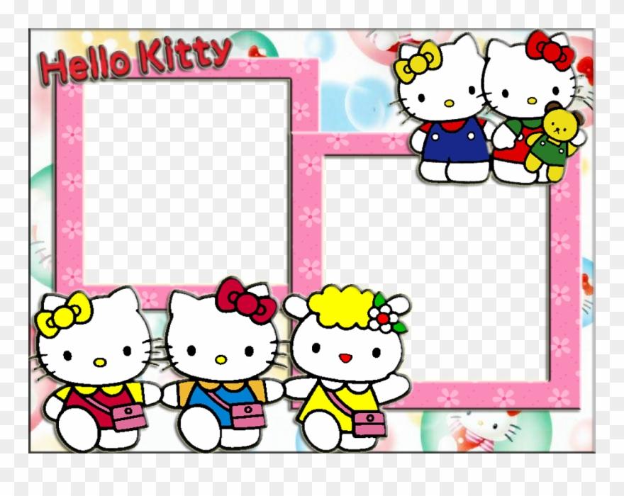 Frame hello kitty clipart. Photo wallpaper full hd