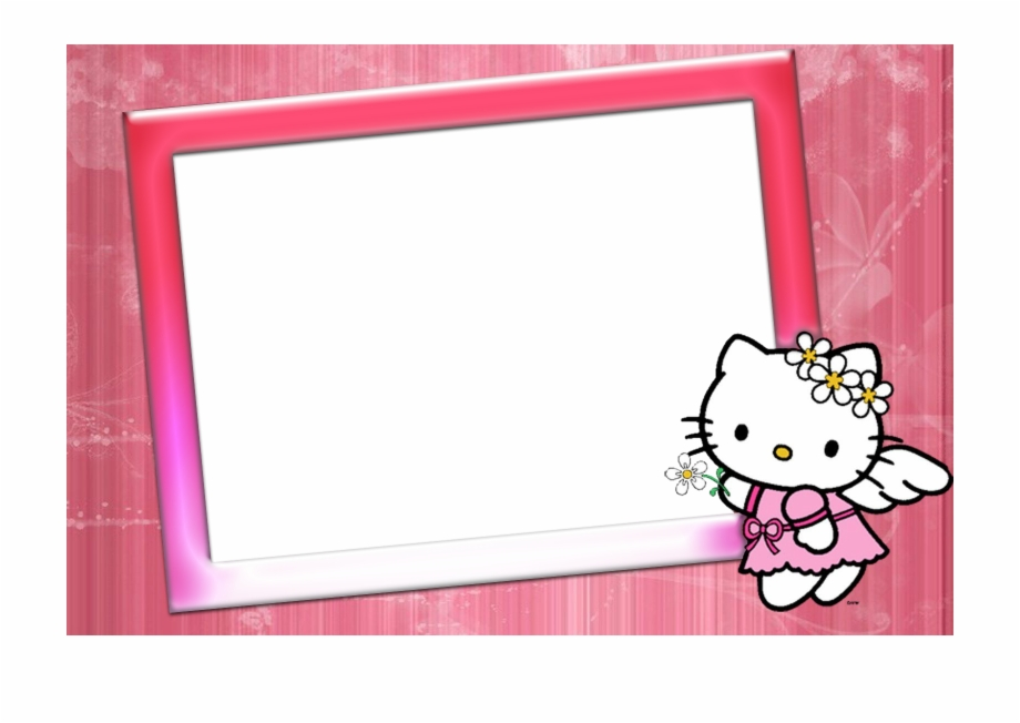 Photo image png free. Frame hello kitty clipart