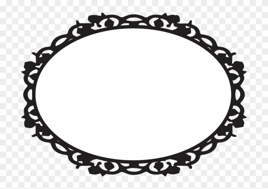 Frame oval clipart transparent library Oval Victorian Frames Clipart Ciij - Princess Background Pink And ... transparent library