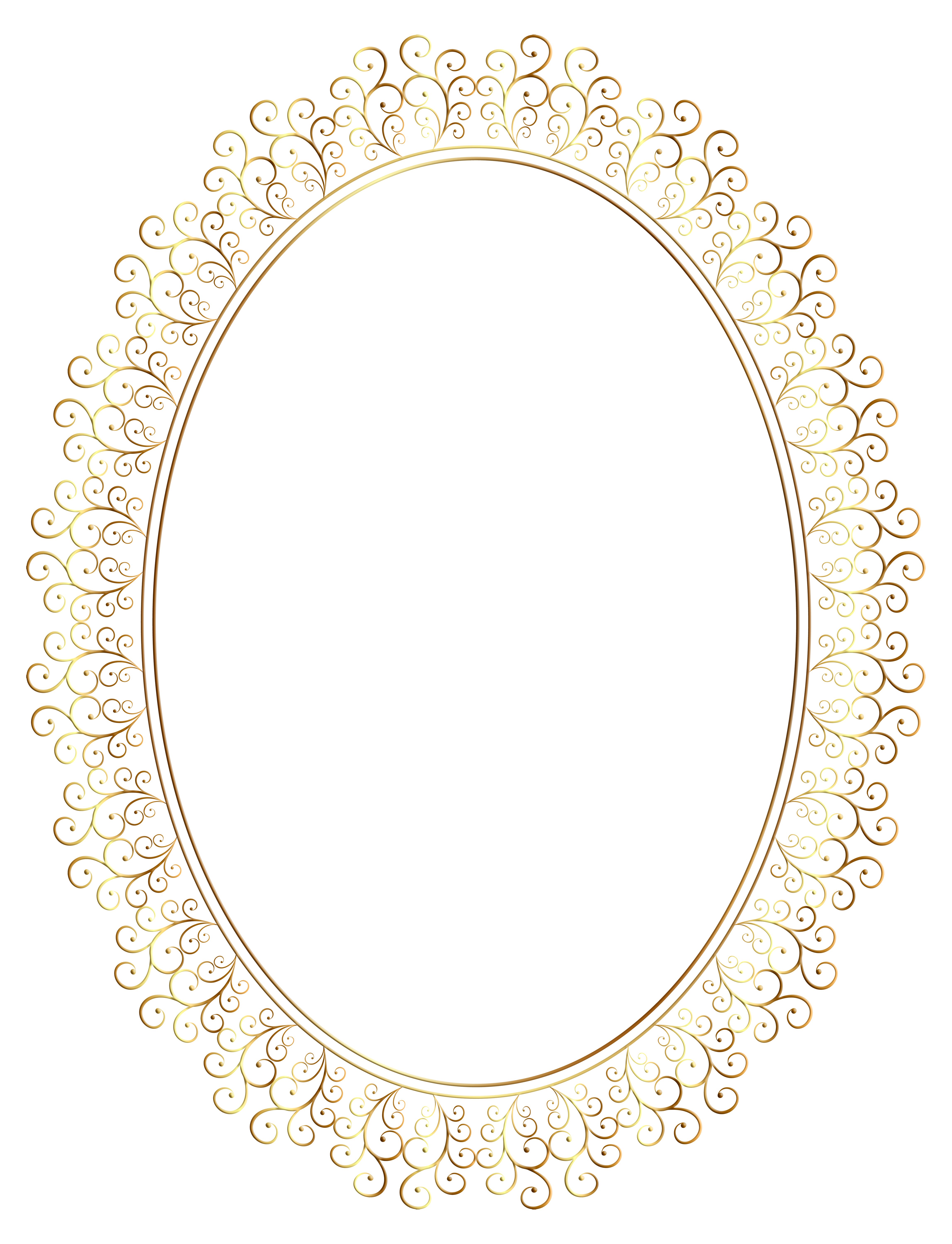 Oval photo frame clipart clip freeuse stock Oval Frame Transparent Clip Art Image | Gallery Yopriceville - High ... clip freeuse stock