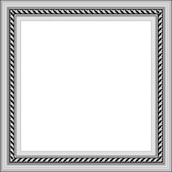 Frame silver clipart clip royalty free Transparent Silver PNG Photo Frame | Gallery Yopriceville - High ... clip royalty free