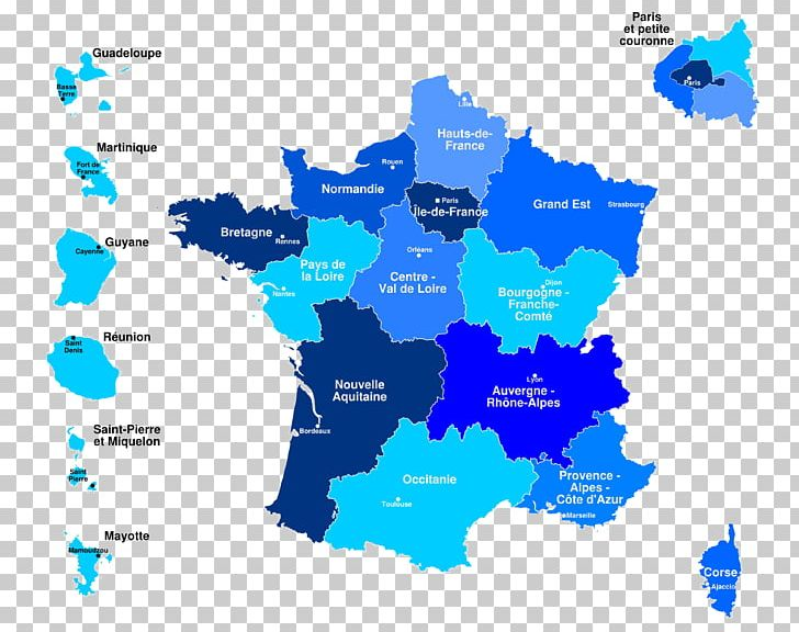 France geography blue clipart clipart black and white library Brittany Overseas France Picardy Regions Of France Map PNG, Clipart ... clipart black and white library