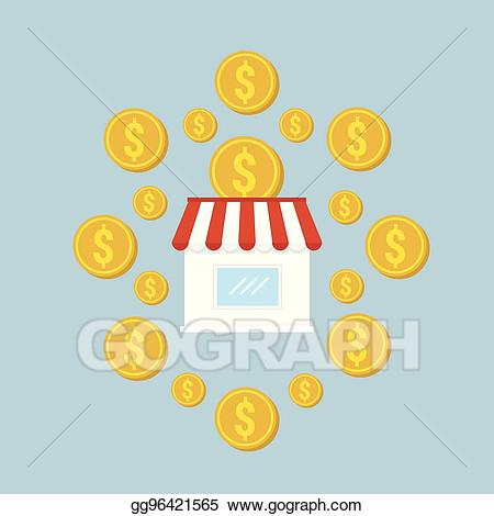 Franchise business in clipart clip free Vector Illustration - Franchise business flat design vector. EPS ... clip free