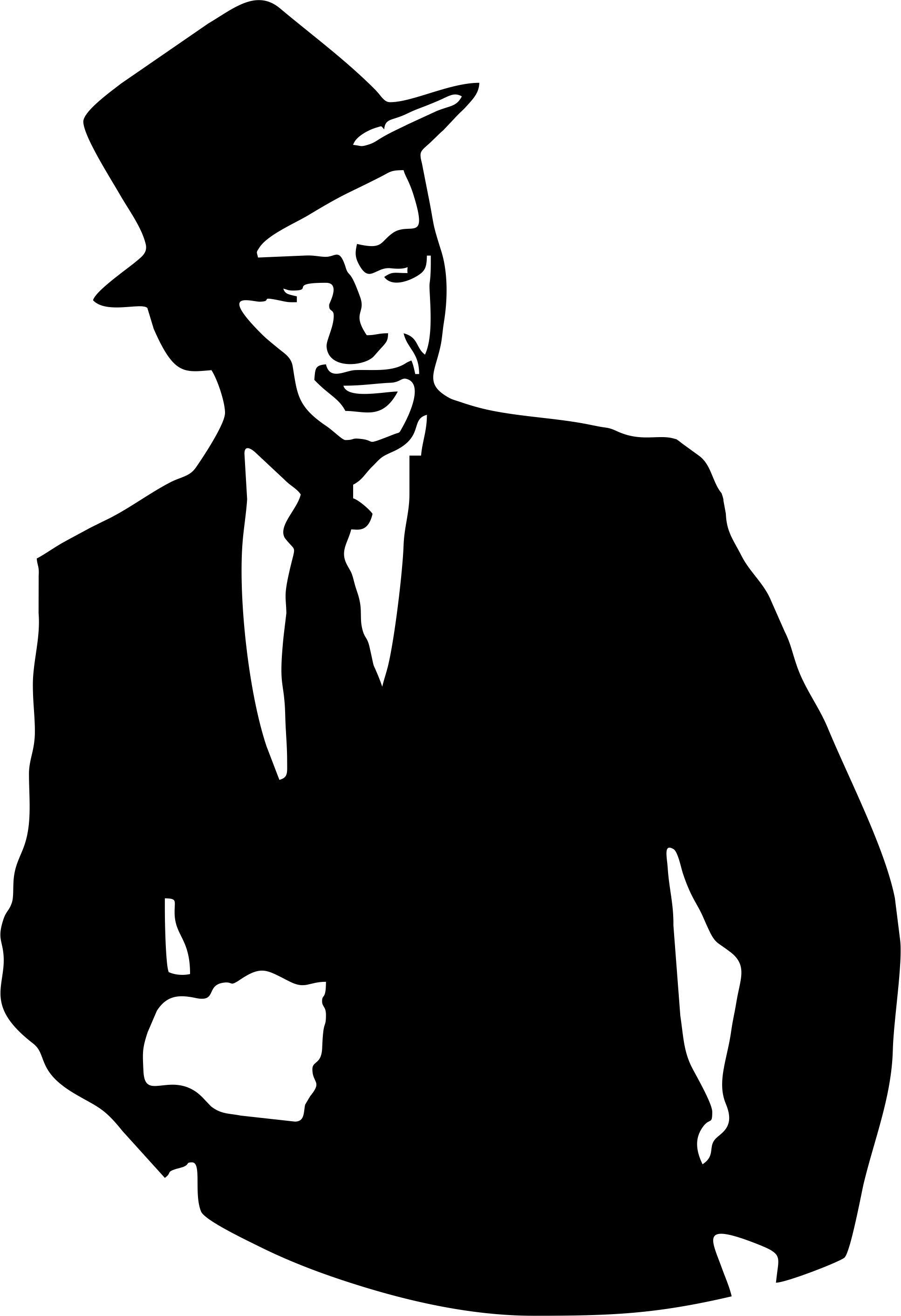 Collection of free download. Frank sinatra clipart