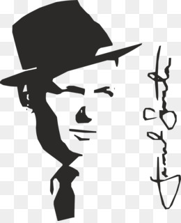 Frank sinatra clipart graphic black and white stock Frank Sinatra PNG - Frank Sinatra Caricature. graphic black and white stock