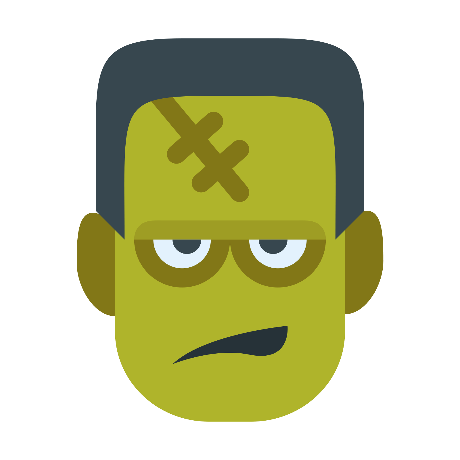 Frankenstein clipart with transparent background. Colour icon png stickpng