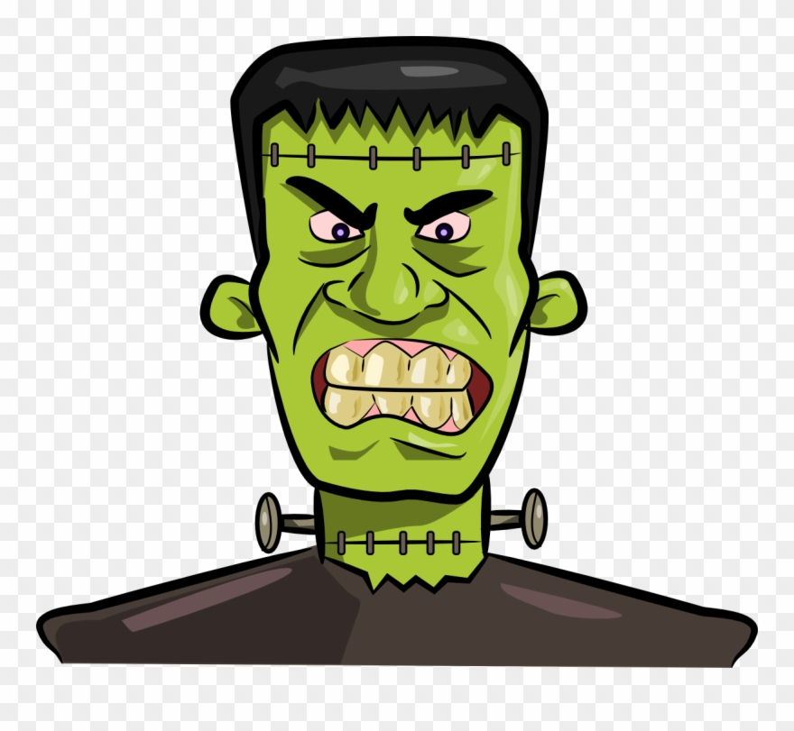 Frankenstein clipart with transparent background clip art freeuse download Frankenstein Kid Clipartix - Frankenstein Png Transparent Png ... clip art freeuse download