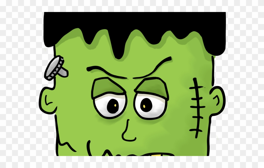 Frankenstien clipart clip royalty free stock Frankenstein Clipart Face - Clip Art Frankenstein Halloween - Png ... clip royalty free stock