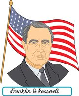 Search results for clip. Franklin roosevelt clipart