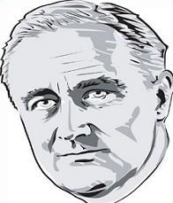 Of president . Franklin roosevelt clipart
