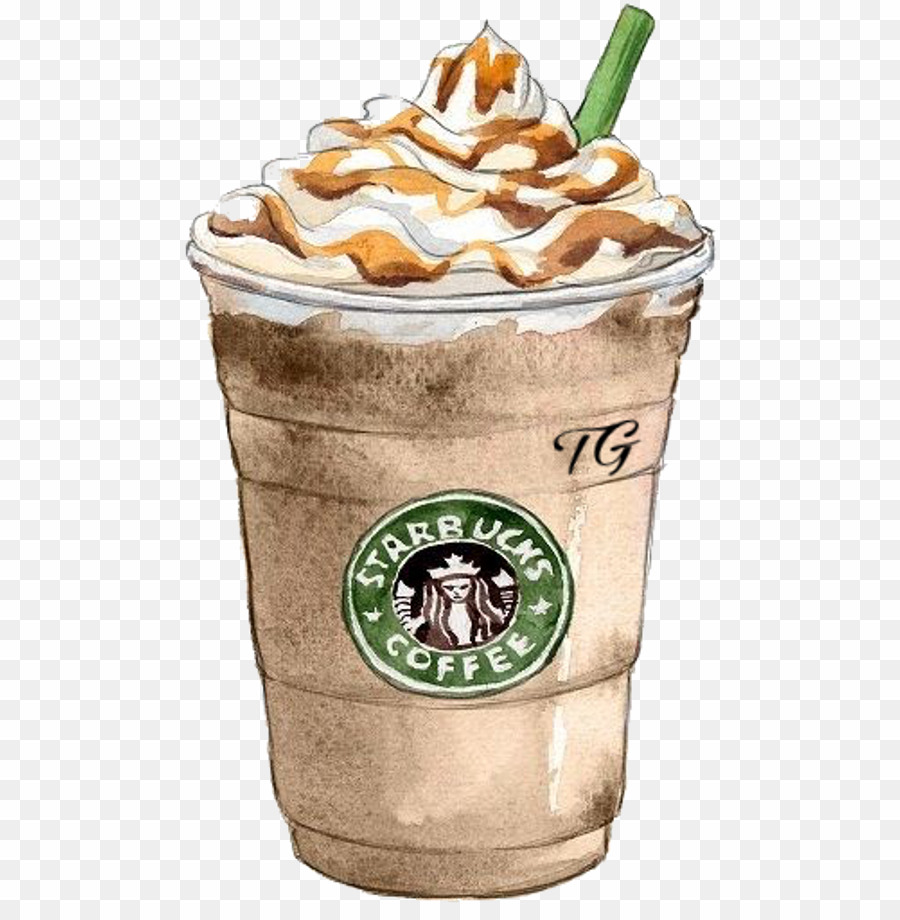 Starbucks stickers png frapp. Frappe coffee clipart