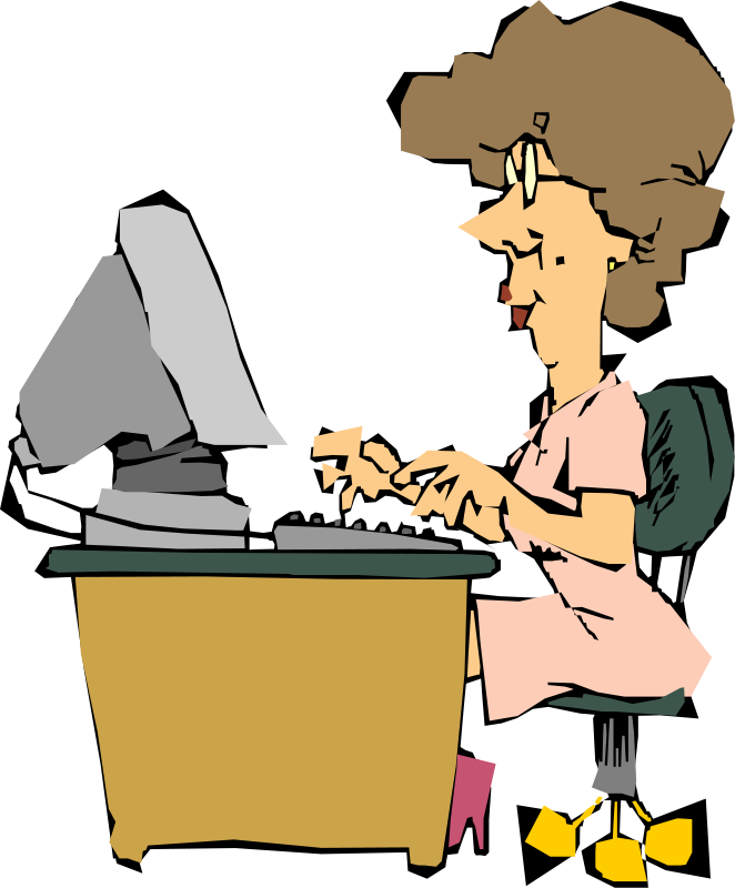Frau am computer clipart png freeuse stock Frau am pc clipart - ClipartFest png freeuse stock