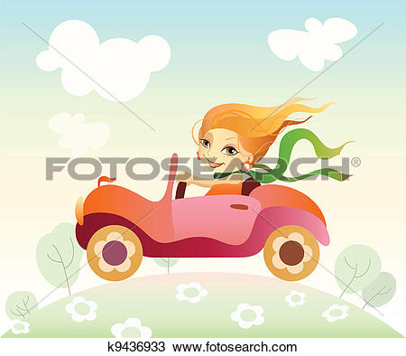 Frau auto clipart picture download Clipart of Reindeer Driving Car k7881942 - Search Clip Art ... picture download