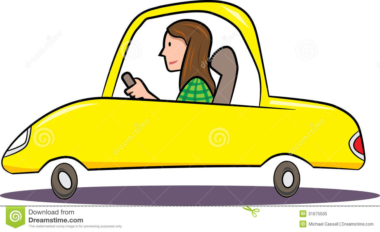 Frau auto clipart image library download Woman in a car clipart - ClipartFest image library download