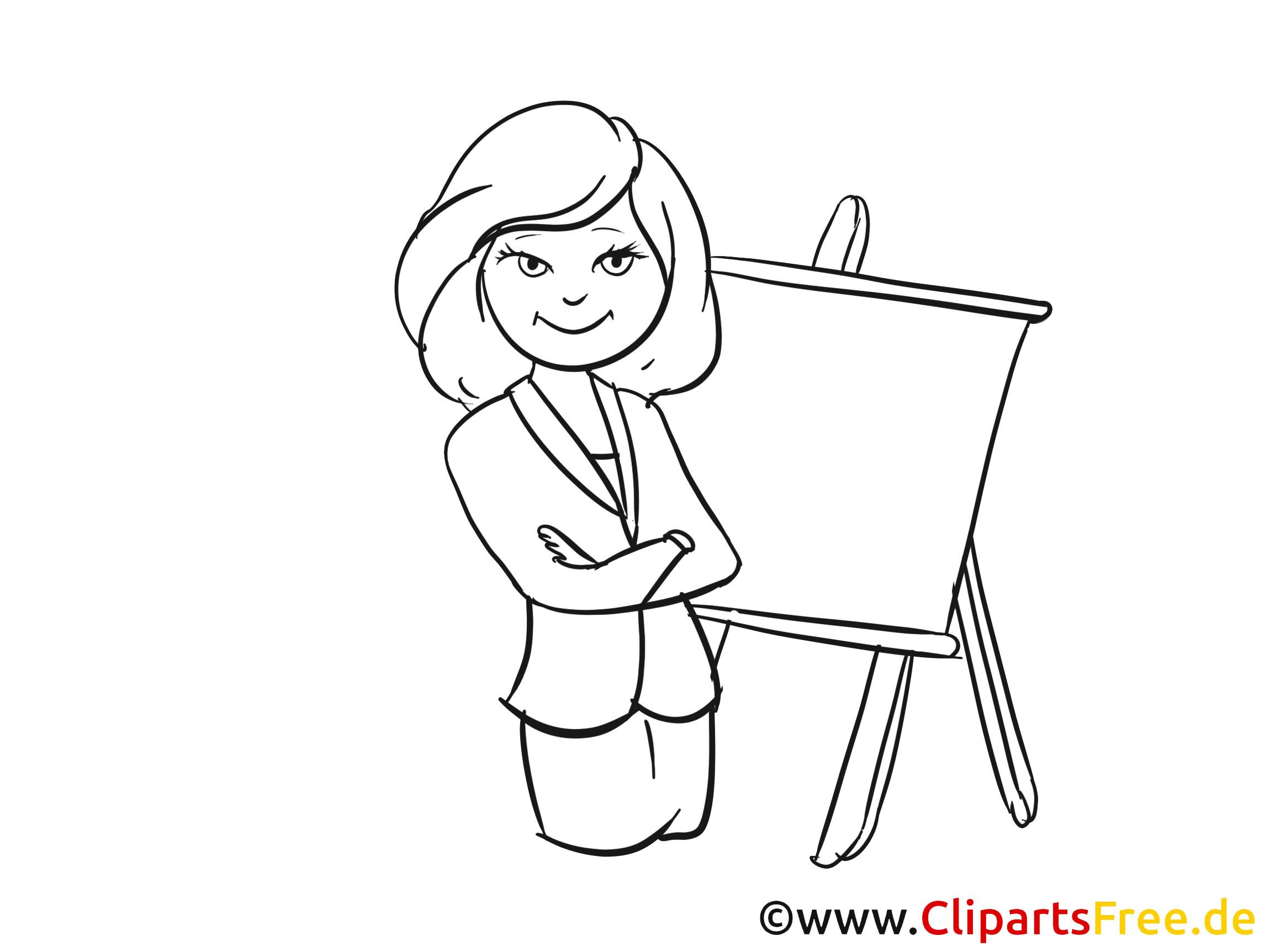 Frau im anzug clipart royalty free Frau im Anzug Clipart, Bild, Cartoon royalty free